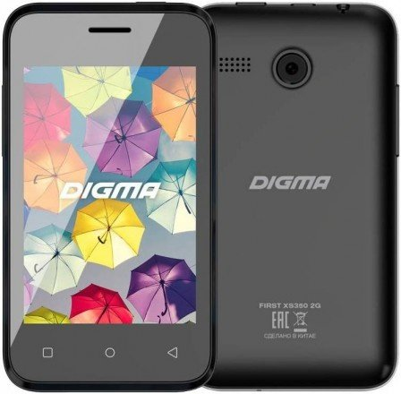 Смартфон DIGMA FIRST XS350 в подарок
